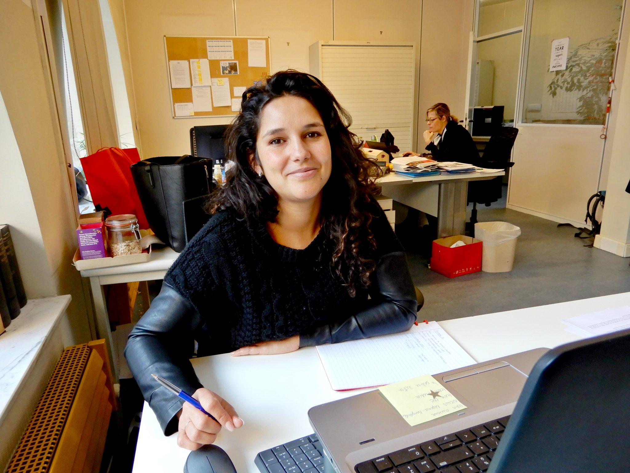 Shannah is redactrice bij een ngo