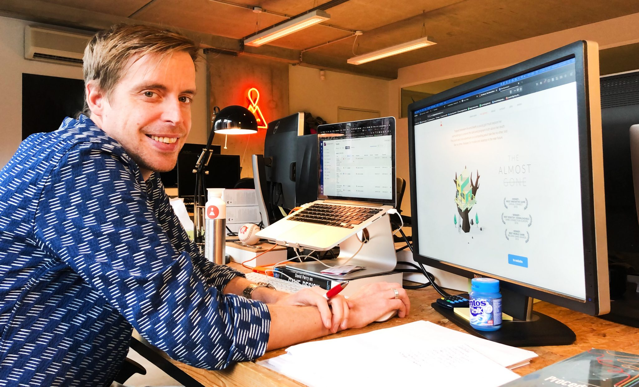 Jeroen is managing director van een game studio